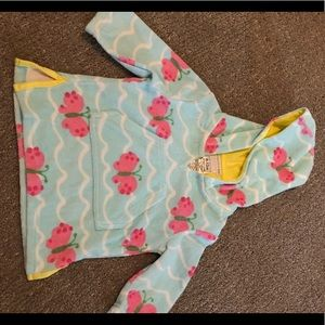 Worn one time! Terry cloth beach coverup (6-12M)